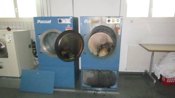 Beim Brand in der Waschküche entstand Sachschaden in noch unbekannter Höhe. (Symbolbild)