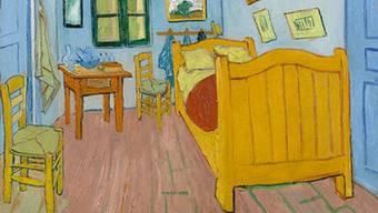 """Vincent Van Goghs berühmtes """"Schlafzimmer in Arles"""" hat sich im Laufe der Zeit farblich verändert"""