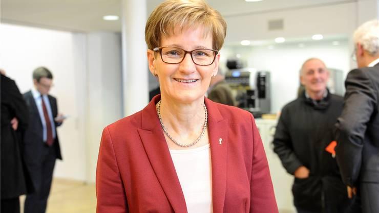 Von ihrem Posten im Verwaltungsrat des Euro-Airport zurückgetreten: FDP-Regierungsrätin Pegoraro.