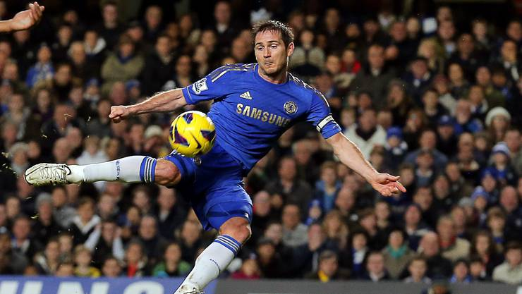 Ein halbes Jahr noch: Frank Lampard spielt nur noch bis im Sommer im Chelsea-Blau