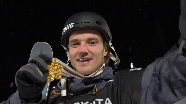 Freeskier Bösch holt WM-Gold