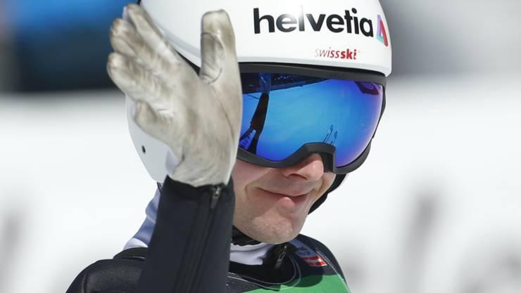 Auf seinen Saisoneinstieg müssen die Fans noch eine Woche warten: Simon Ammann lässt den Auftakt zum Sommer-GP der Skispringer aus