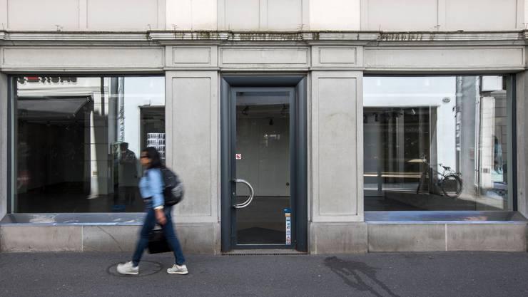 Leere Läden gehören mittlerweile vielerorts zum Stadtbild.