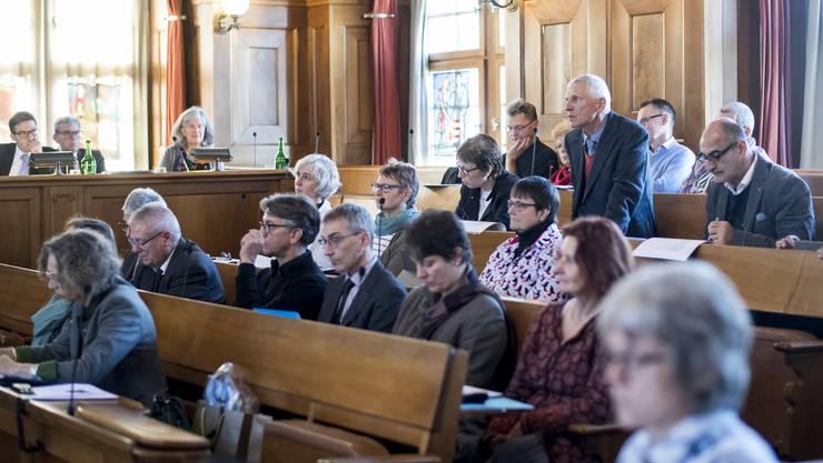 Die römisch-katholische Synode trat am Donnerstag zur konstituierenden Sitzung an. (Archiv)