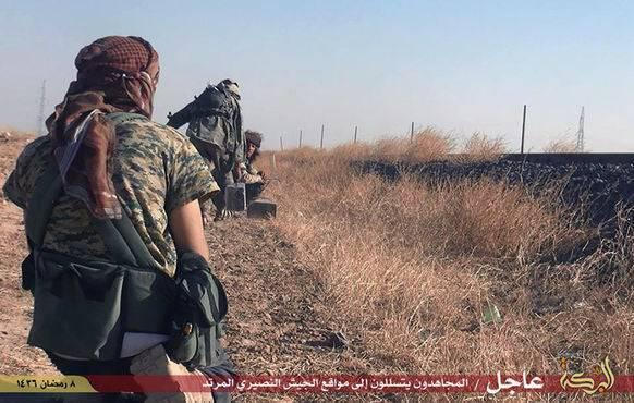 Kämpfer des «Islamischen Staates» in Syrien.