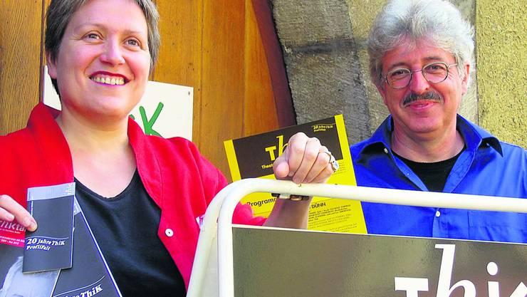 Anita Rösch Egli und Simon Egli freuen sich, dass die Sommerpause vorbei ist und das 20-Jahr-Jubiläum vor der Tür steht.