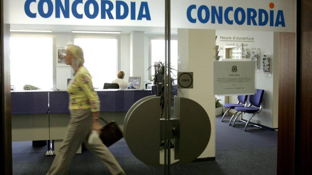 Die Krankenkasse Concordia will die 157 Millionen Franken Überschuss an die Versicherten zurückbezahlen. (Archivbild)