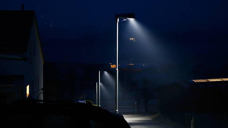 Geht es nach dem Gemeinderat, werden die Strassenlampen in Jonen nachts nicht mehr angeschaltet.
