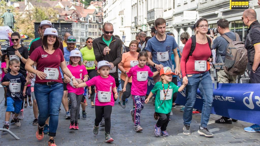 St.Galler lassen sich für Laufevents begeistern