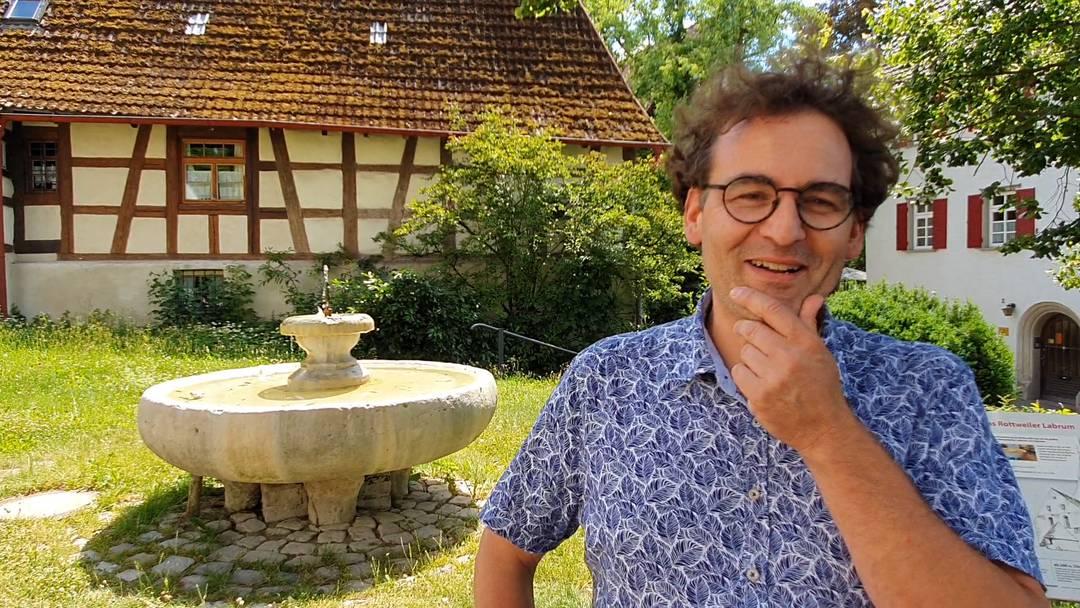 Im Video-Interview: Thomas Hassler, Stadtführer Rottweil