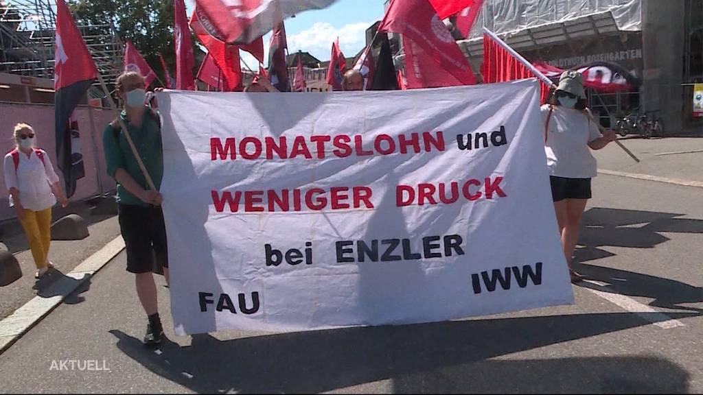 Arbeiter zweiter Klasse: Das Putzpersonal der Luterbacher Firma Biogen fühlt sich benachteiligt