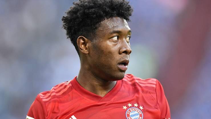 Muskelfaserriss im Oberschenkel: David Alaba fehlt Bayern München auf unbestimmte Zeit
