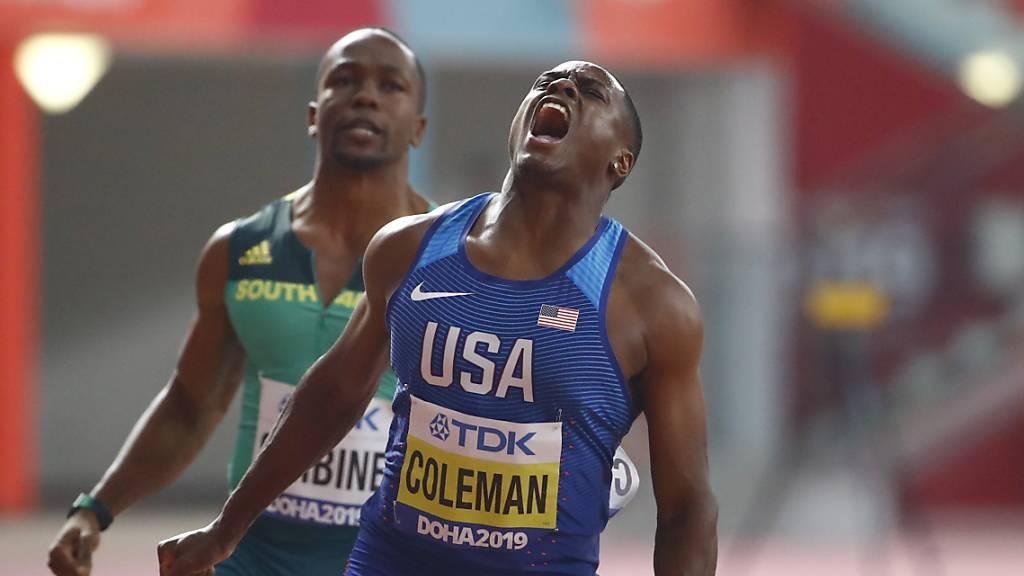 Coleman wird Weltmeister über 100 m