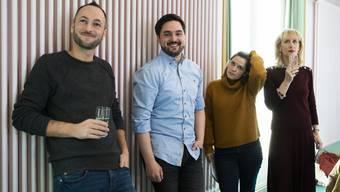 Von vier auf zwei: Mathias Reynard, Cédric Wermuth, Mattea Meyer, Priska Seiler-Graf.