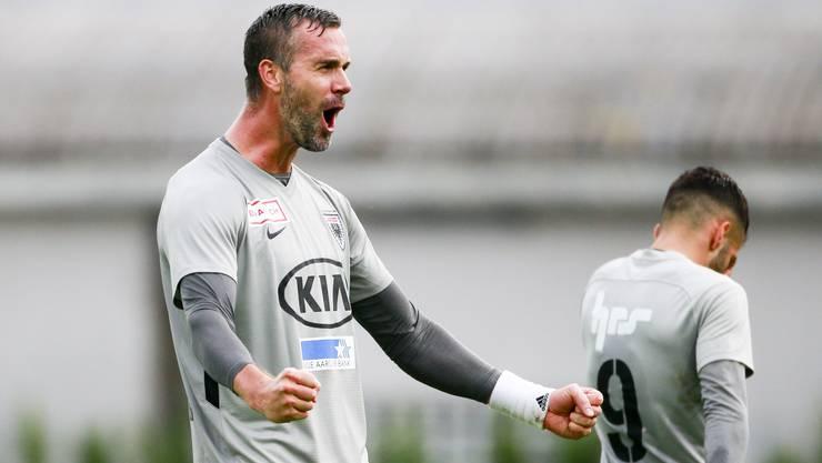 Stefan Maierhofer trifft im Testspiel doppelt - wann trifft er erstmals in der Liga?