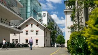 Das amerikanische Unternehmen General Electric (GE) will in Baden 84 Stellen abbauen. (Archivbild)