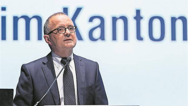 Aaraus Stadtpräsident Hanspeter Hilfiker ist erfreut über den Entscheid des Kantons. Dieser hat die Abstimmungsbeschwerden abgelehnt..