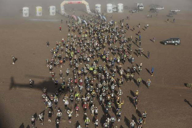 Rund 1000 Teilnehmer aus 50 Ländern waren am Start.