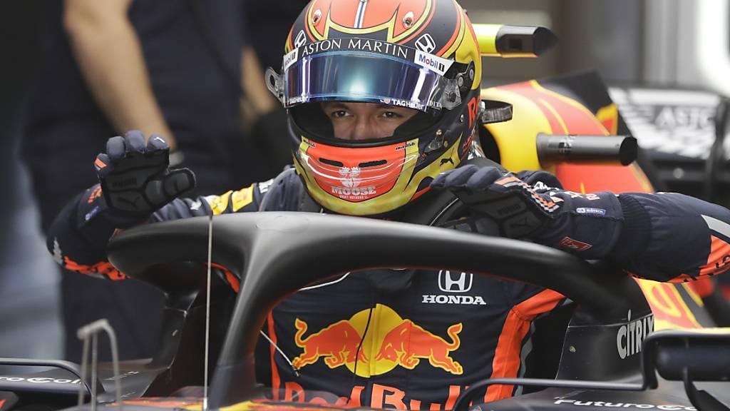Red Bull setzt weiter auf Albon