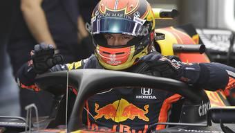 Alexander Albon darf auch in der kommenden Saison wieder im Red Bull Platz nehmen