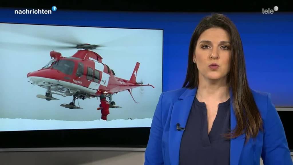 Zwei verletzte Skifahrer wegen Lawinen in Andermatt