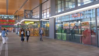 Scientology-Werbung am Bahnhof SBB