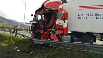 Lastwagenunfall Egerkingen