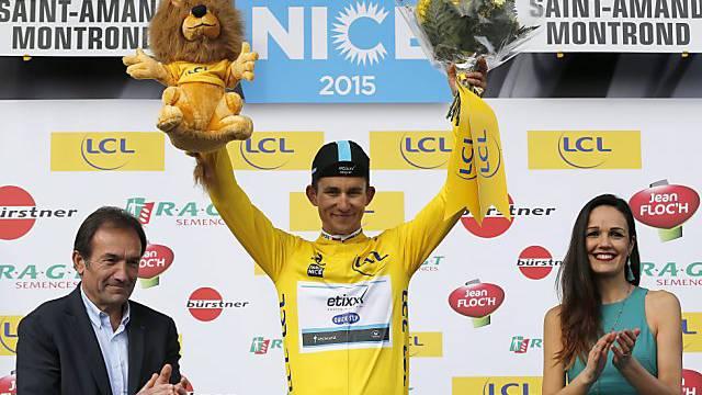 Michal Kwiatkowski trägt wieder das gelbe Leadertrikot.
