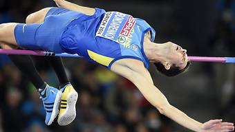 Bogdan Bondarenko sichert sich den EM-Titel im Hochsprung