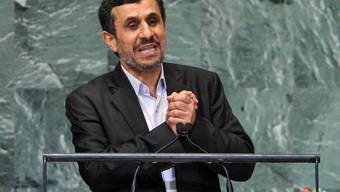 Provozierte für einmal nicht: Irans Präsident Mahmud Ahmadinedschad vor der UNO-Vollversammlung