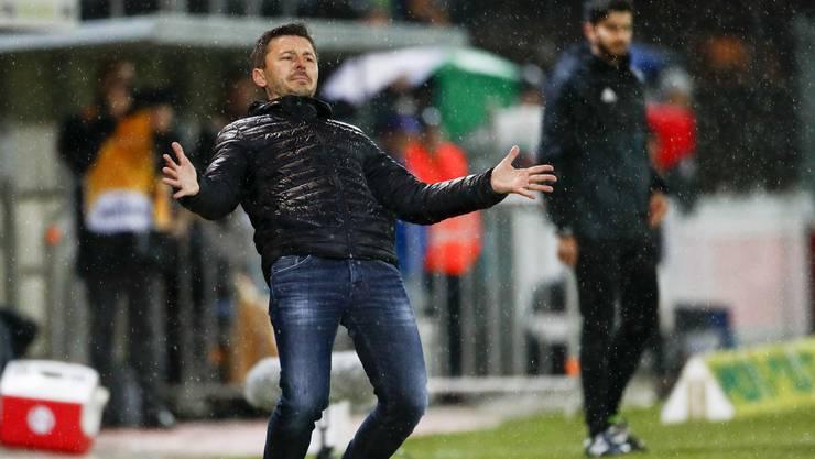 FCA-Trainer Marinko Jurendic in Rücklage