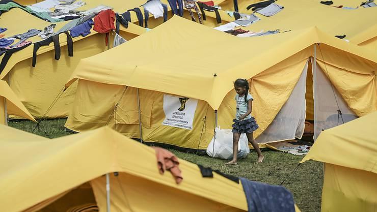 Hunderttausende Venezolaner brauchen Hilfe, nachdem sie ins Nachbarland Kolumbien geflüchtet sind. (Archivbild)