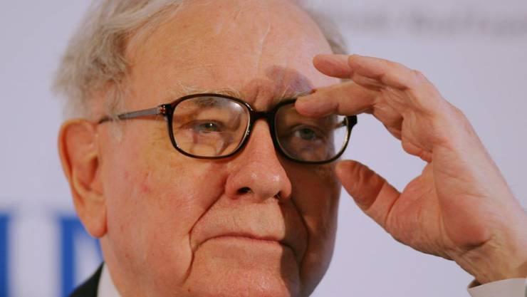 Warren Buffet gibt den Kampf um die Übernahme des amerikanischen Stromanbieters Oncor auf. (Archiv)