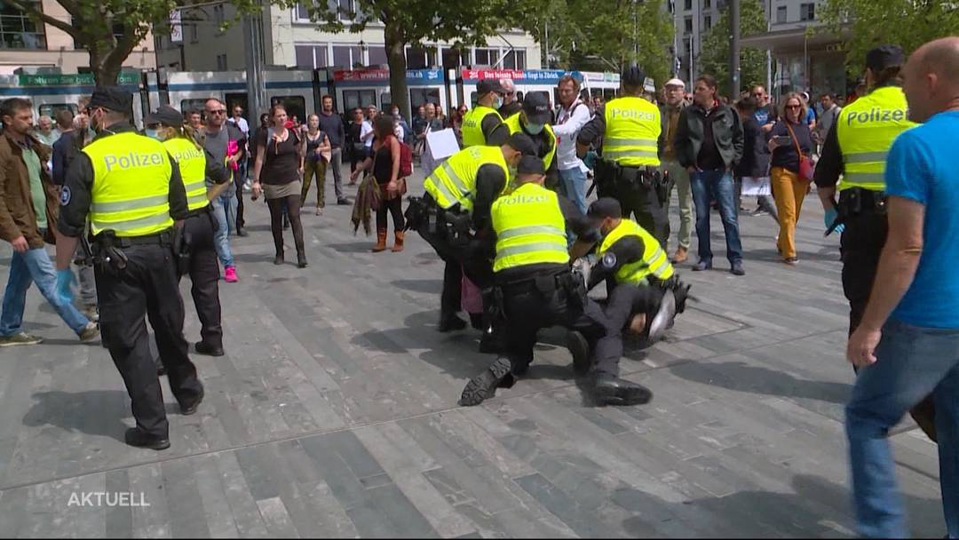 Der Beitrag von TeleM1: Trotz Versammlungsverbot – schweizweite Corona-Demos