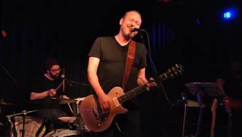 Enthusiastisch: der Badener Tobias Suter am Schlagzeug, Christoph Baumgartner alias Baum an der Gitarre. Salomé Meier