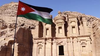 Die im Süden Jordaniens gelegene Felsenstadt Petra ist eine der grössten Sehenswürdigkeiten des Nahen Ostens und seit 1985 Unesco-Weltkulturerbe. (Archivbild)