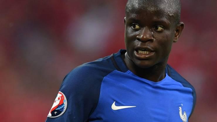 Der französische Internationale N'Golo Kanté spielt künftig für Chelsea