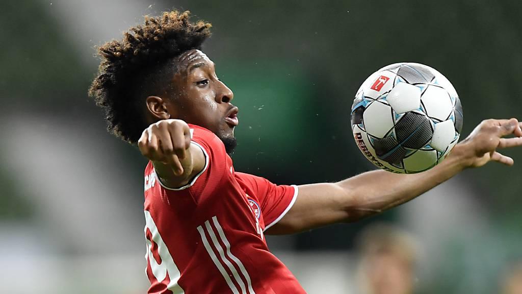 Fehlt Bayern München in den kommenden Wochen: Kingsley Coman