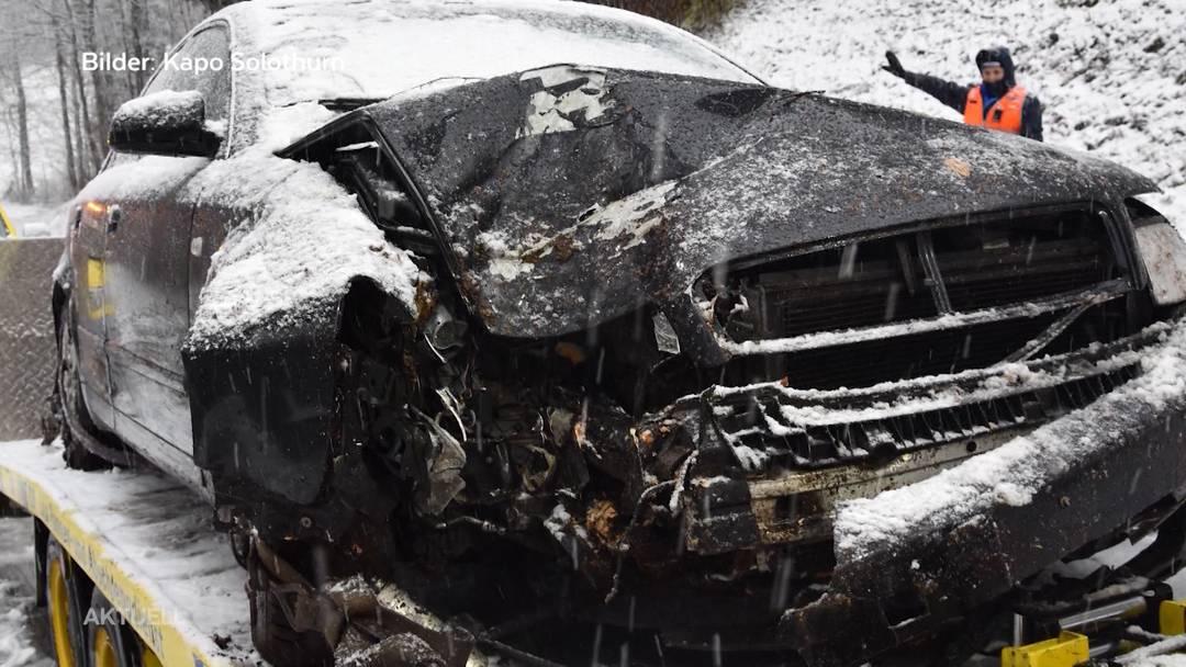 Schneechaos im Aargau: Unfälle ereigneten sich fast im Minutentakt