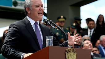 Die komumbianische Regierung hat angebliche Attentatspläne gegen Präsident Ivan Duque verurteilt.