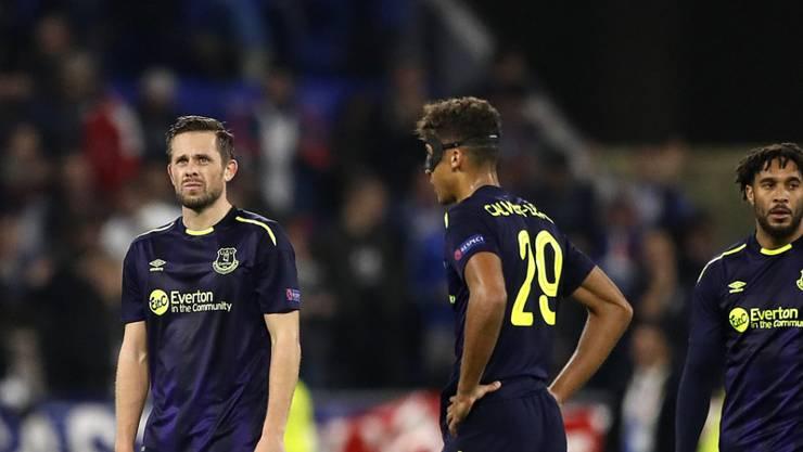 Everton enttäuschte auch in Lyon