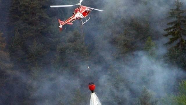 Zwei Helikopter waren im Bergell im Einsatz (Symbolbild)