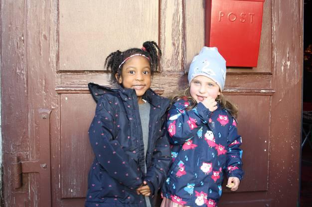 Joyce (links) und Ylenia