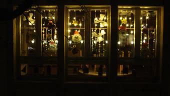 Adventsfenster Kanton Solothurn 2017: Spielgruppe Heubuerzli aus Biberist. Fotografiert von Reinhard Furter.