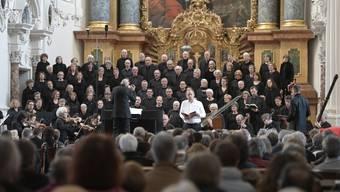 Singkreis Wasseramt mit der Johannespassion in der Jesuitenkirche Solothurn