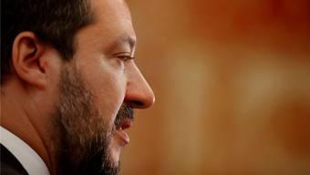 Geschichte? Interessiert ihn nicht. Innenminister Matteo Salvini will mit einer radikalen Allianz die Europapolitik aufmischen.