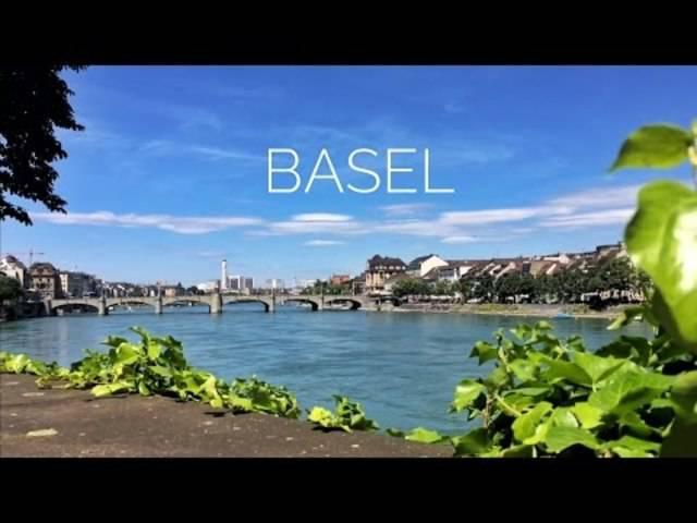 Switzerland - Basel - Beautiful city on the Rhein