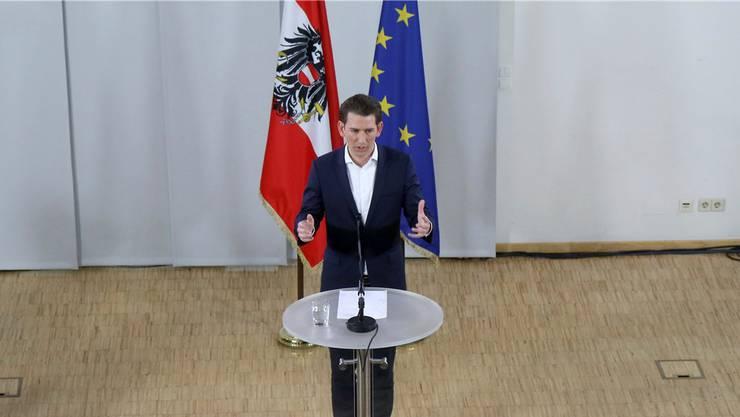 So mächtig wie keiner vor ihm: Der neue ÖVP-Chef Sebastian Kurz. Ronald Zak/key