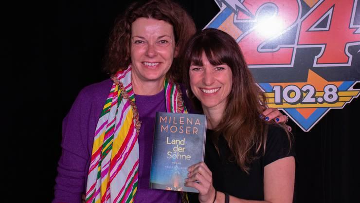 Die Zürcher Schriftstellerin Milena Moser hat die Liebe in Amerika gefunden. Mit Sharon Zucker spricht sie über ihr neues Buch