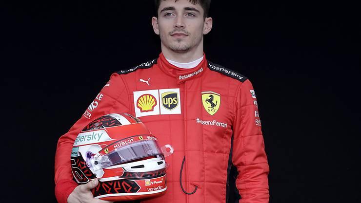 Charles Leclerc gewann das zweite Rennen der VR-Serie
